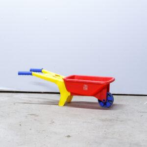 Lille trillebør i plast